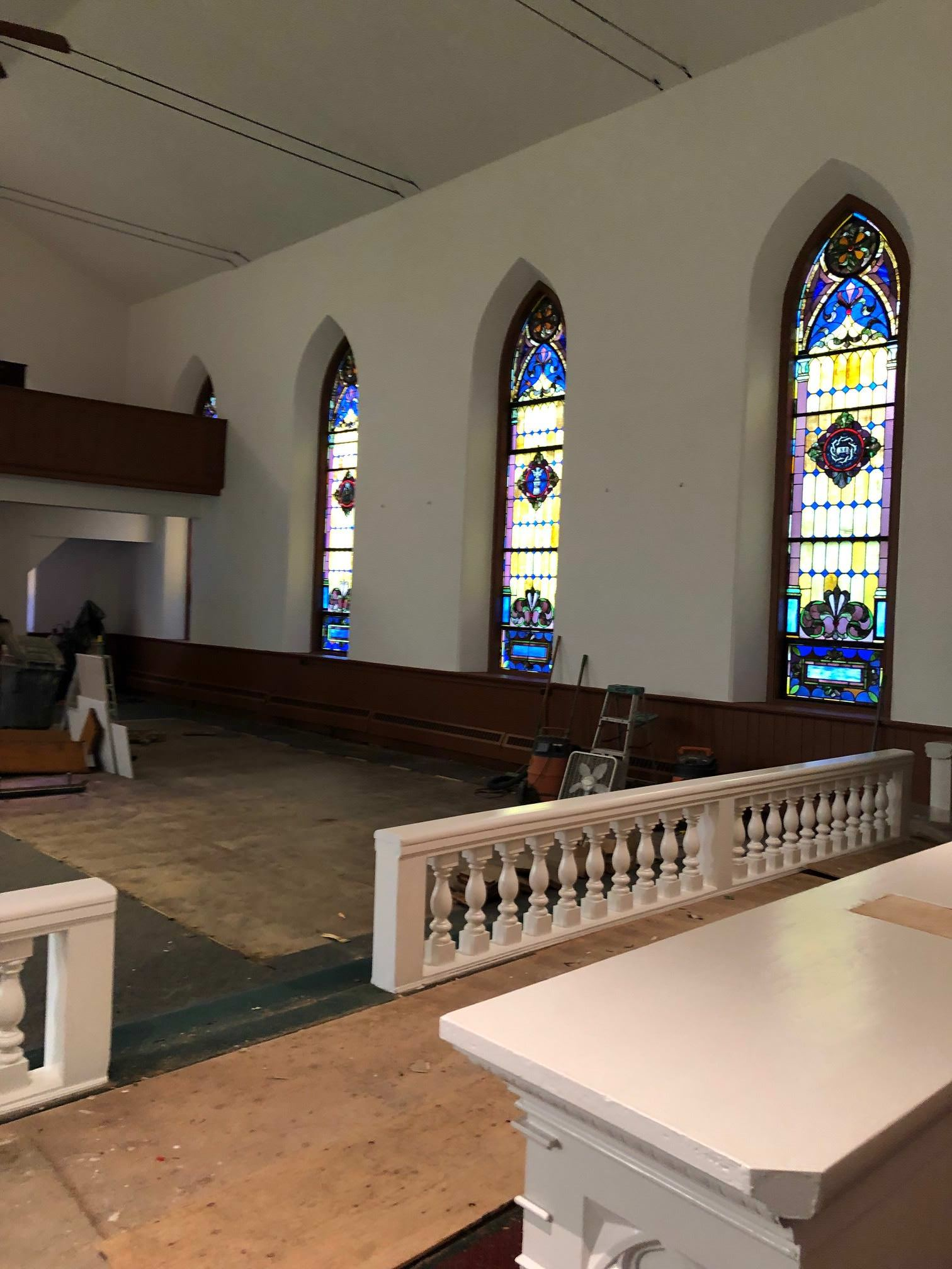 Painting A 100 Year Old Philadelphia Church Laffco