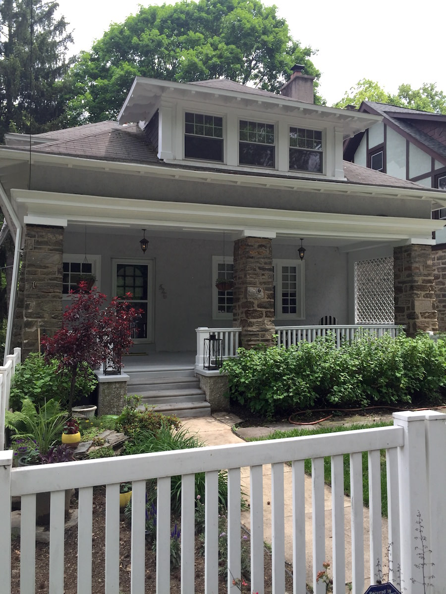 Chestnut Hill Exterior Painting - Front 2