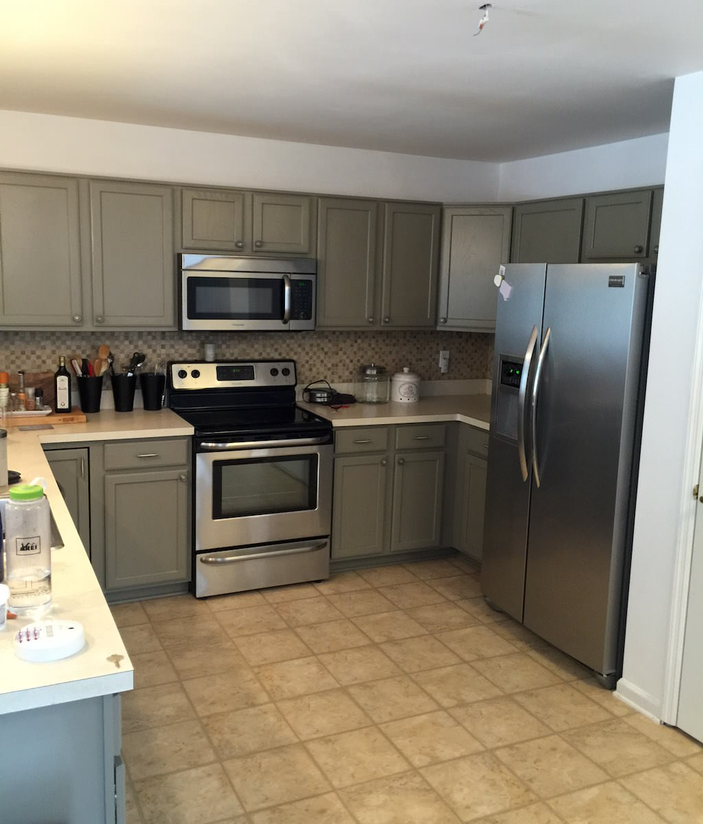 East Norriton Kitchen Painting - After 1