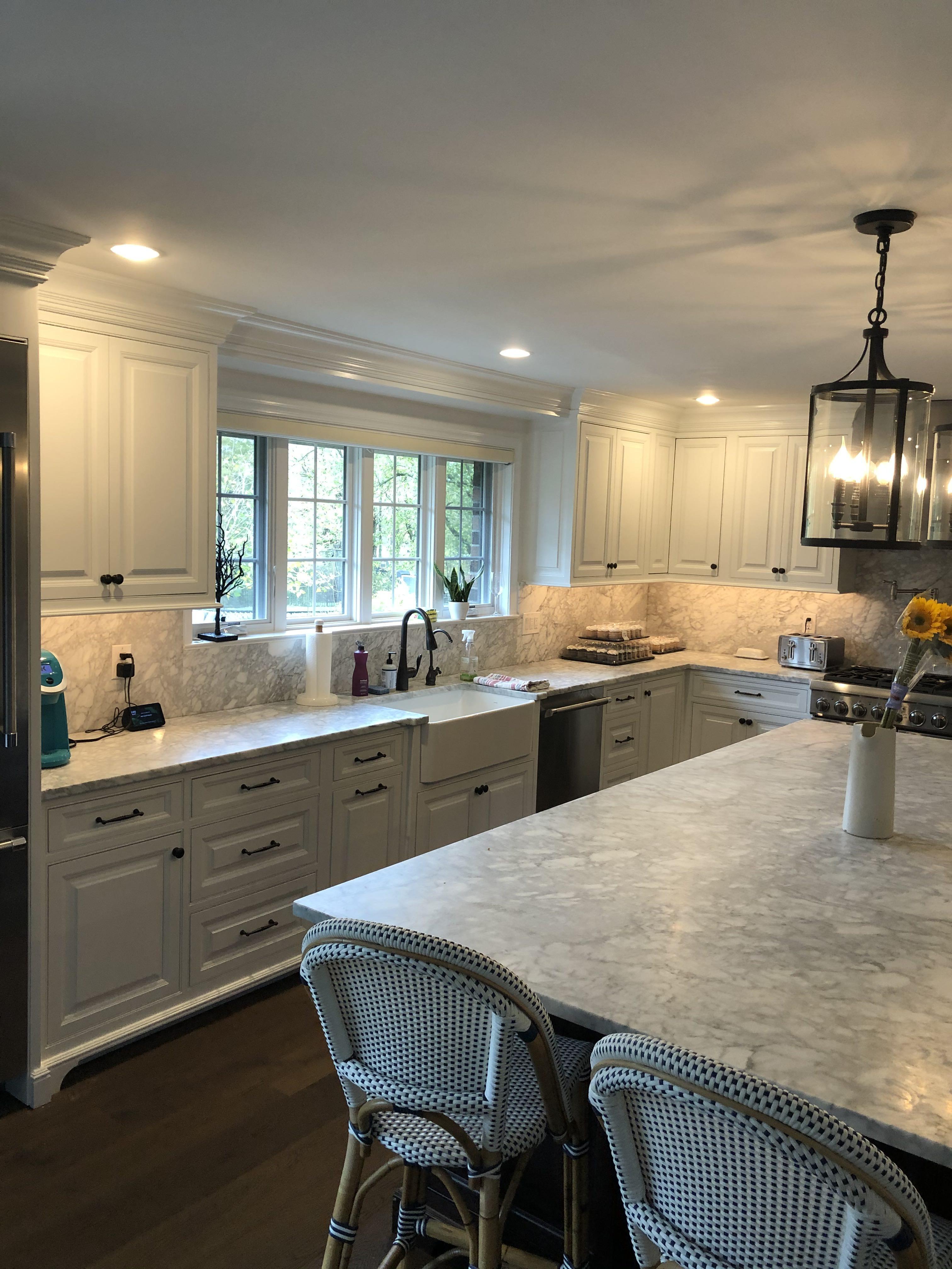 Painting Kitchen Cabinets to Finish Ambler Renovation ...