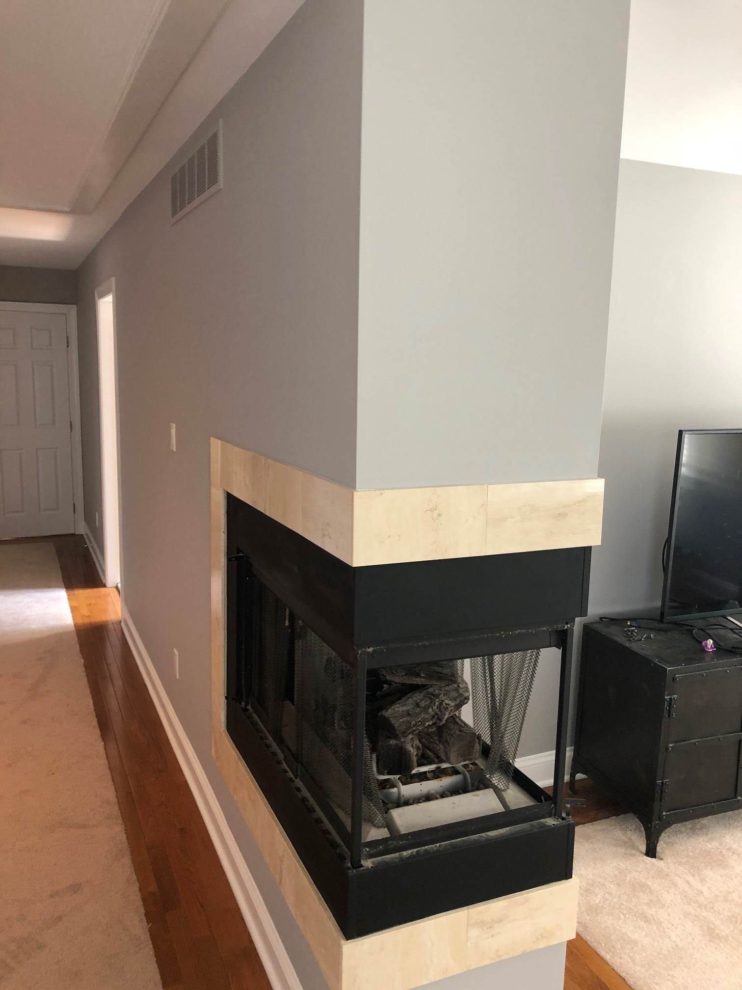 Reviving An Outdated Living Room In Ambler Laffco Painting