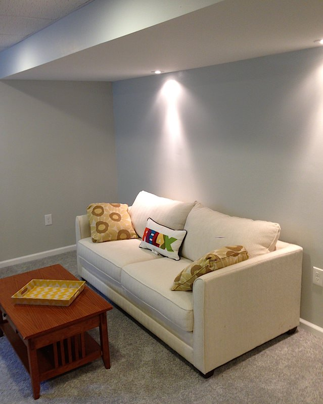 Simple Basement Paint Colors Laffco Painting