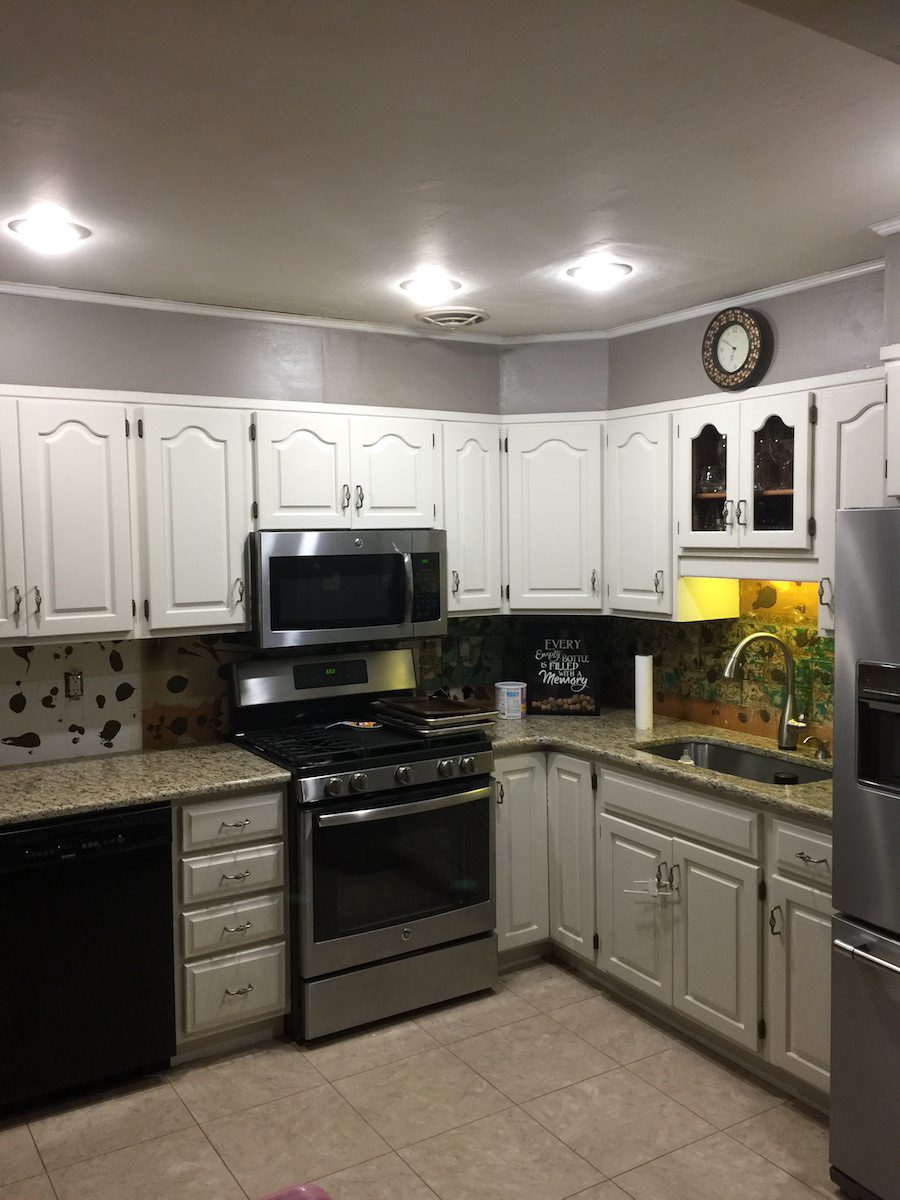 Kitchen Cabinet Painting In King Of Prussia - After 1