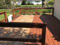 deck staining in collegeville before 4
