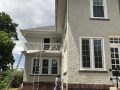 Commercial Exterior Painting in Norristown - Progress