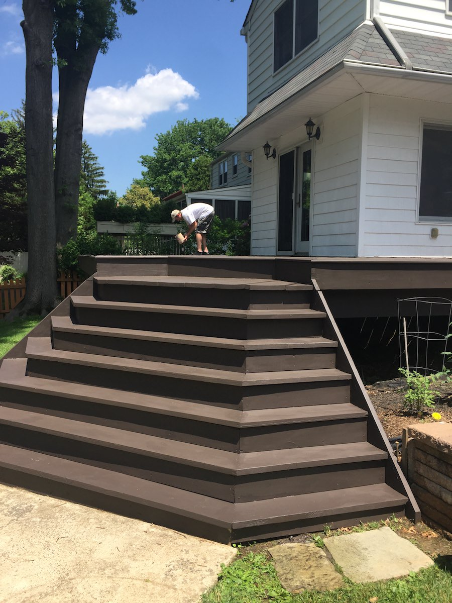 Deck Staining in Langhorne - After - 2 - web