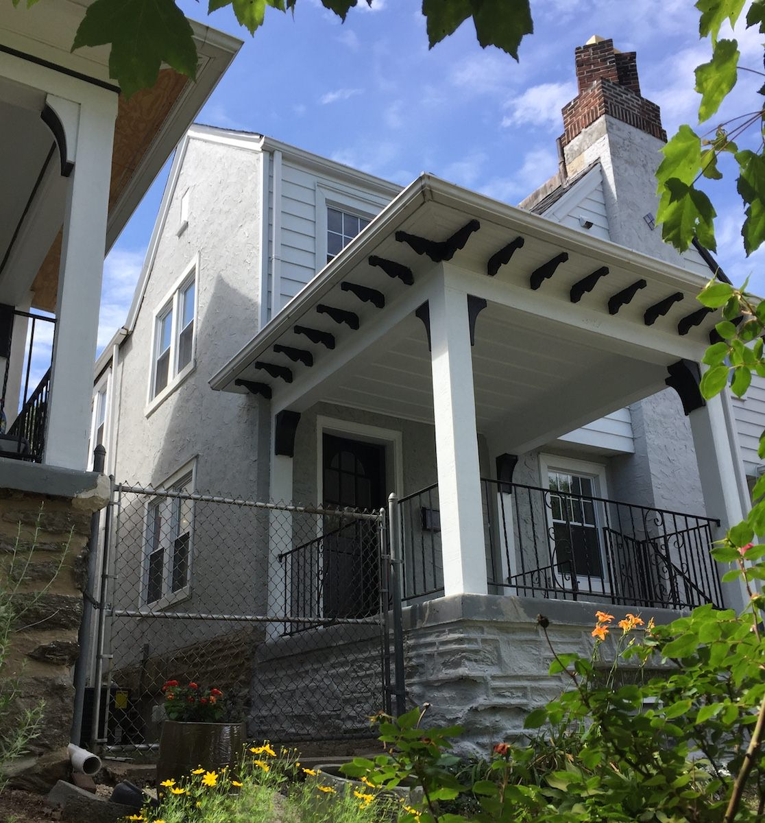 Exterior Painting in Chestnut Hill - After 3