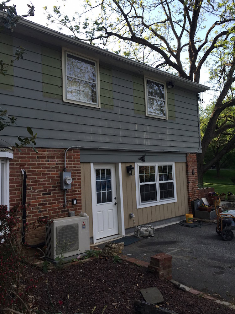 Vinyl siding painting in devon laffco painting - Chestnut brown exterior gloss paint ...