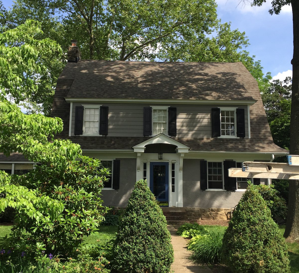 Exterior Painting in Wyndmoor - After 5
