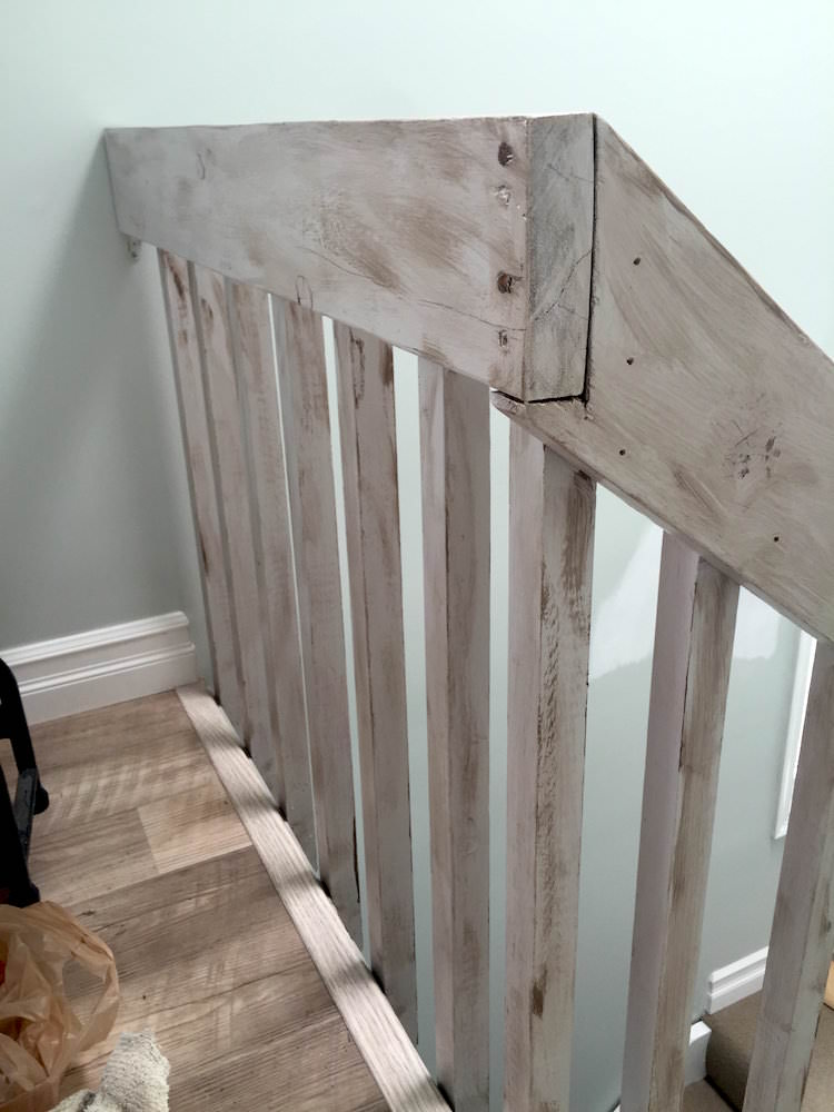 Beach House Interior Painting - Railing After 2