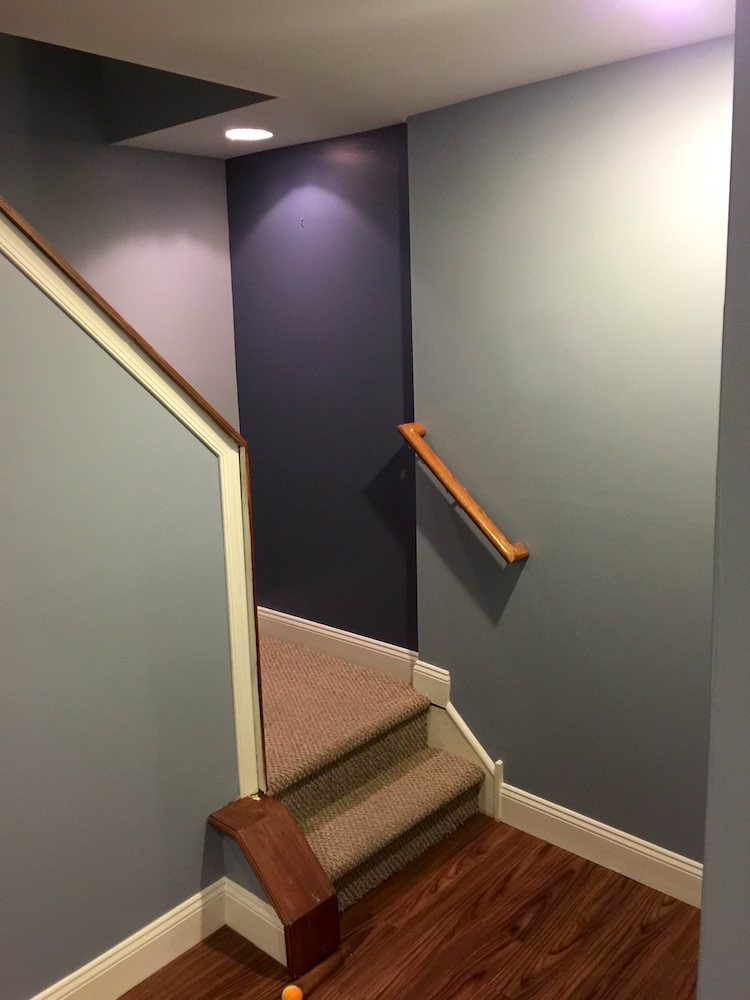 Center City Home Makeover - Stairway After 2