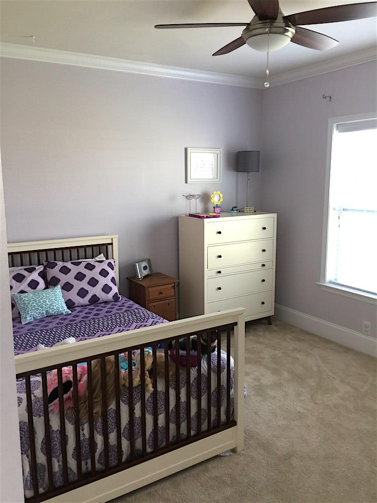 House Painting in Horsham - Back Child's Room After