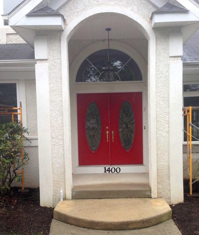 Home Makeover Upper Darby Door After