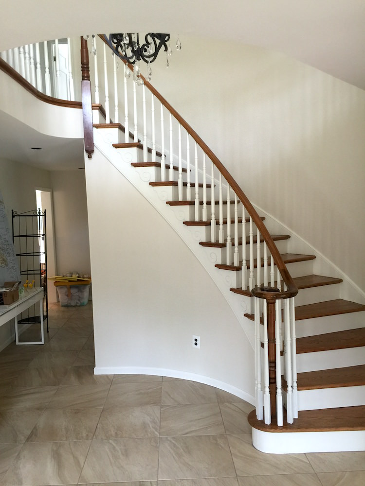 Interior Painting in Voorhees - Stairs After 1