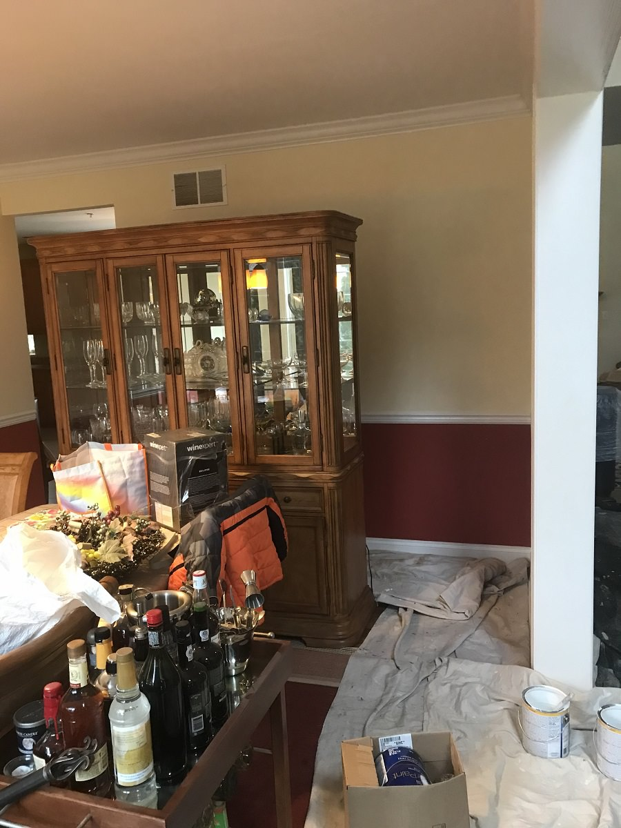 King Of Prussia Dining Room Makeover Photos