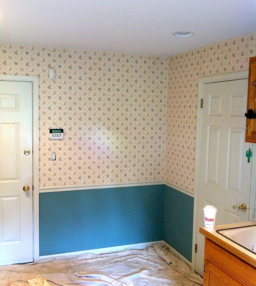 Laundry Room - Before 2