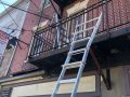 Norristown Fire Escape Mid-Job