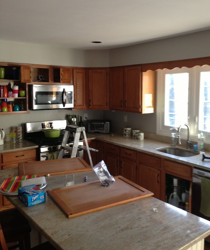 Painting Kitchen Cabinets In Phoenixville