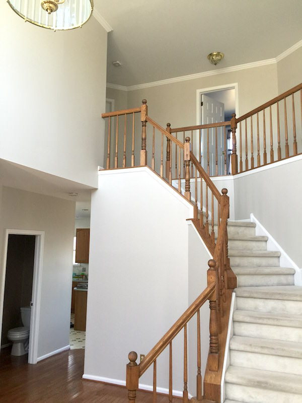 Foyer Staircase Quote : Laffco painting