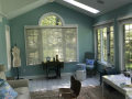 interior painting in talamore sunroom after