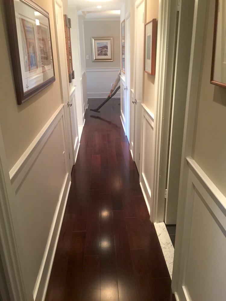 Bala Cynwyd Hallway Wainscoting Laffco Painting