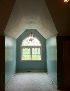 LaffCo. completed this master bedroom painting project.