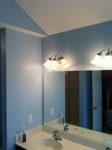 Interior Painting - Bathroom