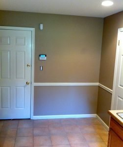 LaffCo. Painting painted this laundry room.
