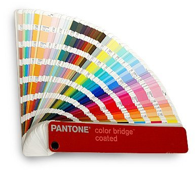 Collection of pantone colors