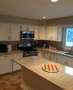 kitchen painting - phoenixville