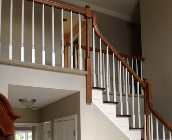 LaffCo. Painting painted a foyer in Maple Glen.