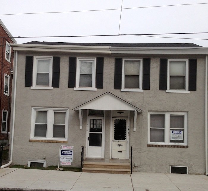 LaffCo. Painting provided exterior painting services to Norristown twin homes. - Norristown painting company