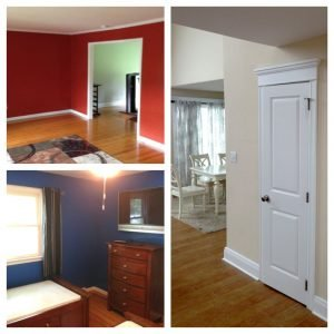 Red, White, and Blue Paint Ideas | LaffCo. Painting on