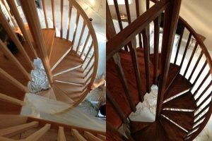 blue bell painting company - staircase