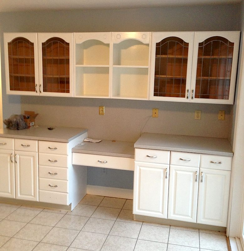LaffCo. Painting refinished these cabinets in Lansdale.