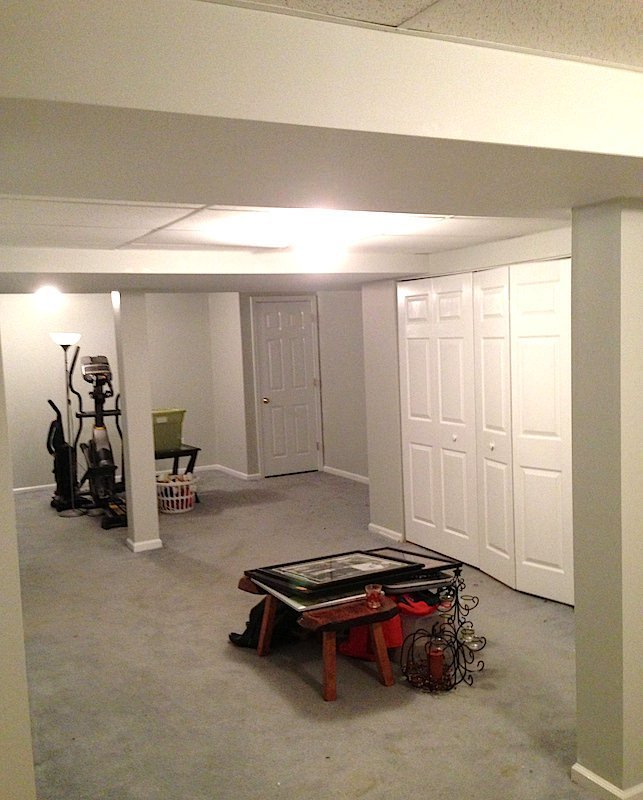 Collegeville Painting Company - basement walls