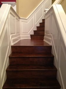 Wainscoting Painting - Staircase