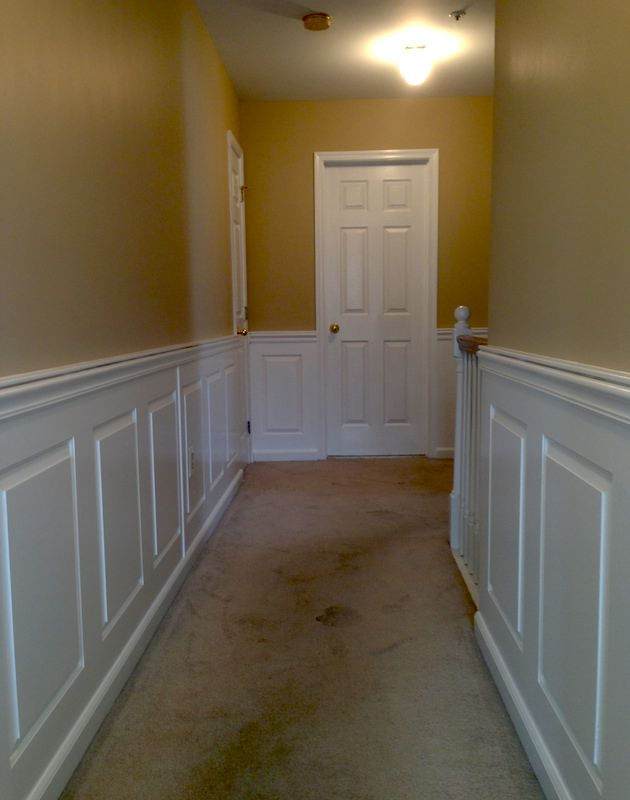 LaffCo. Painting painted this foyer in Conshohocken.