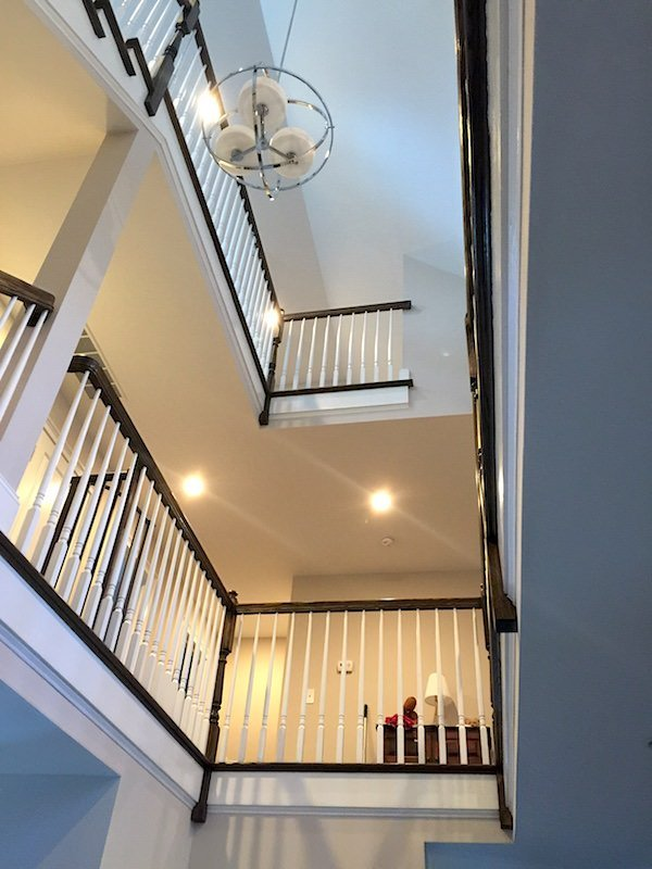 Main Line Interior Painting - Staircase