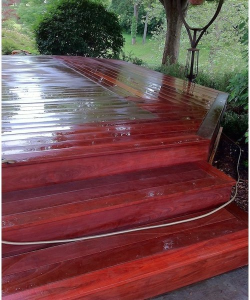 Deck Maintenance Tips - Power Washing
