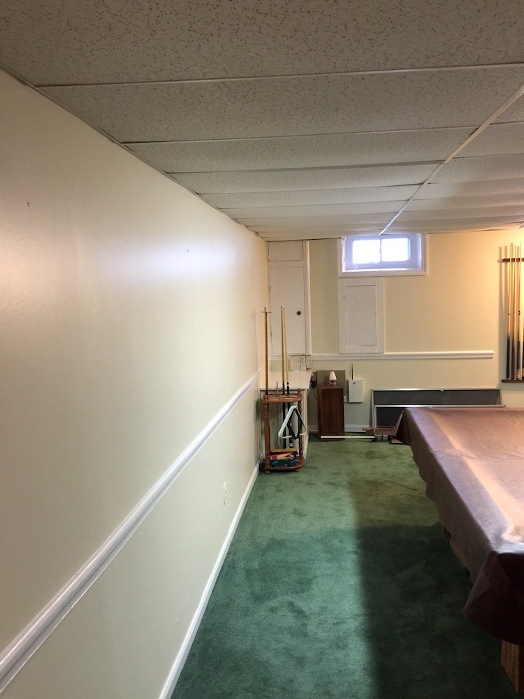East Norriton Basement Painting