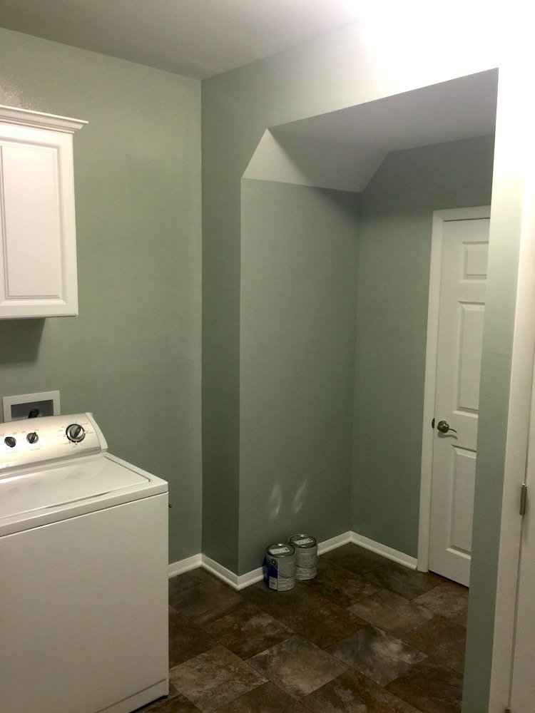 Laundry Room Painting - Plymouth Meeting painting company