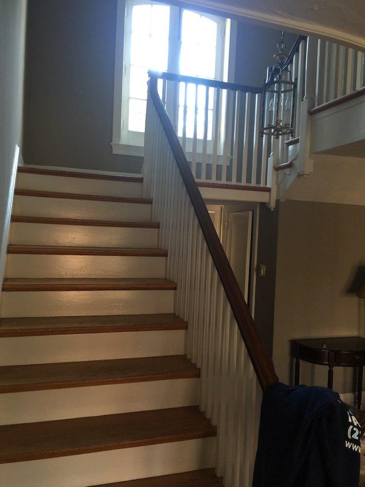 Interior Painting In Wyndmoor - stairs