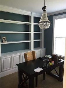 home office paint - horsham