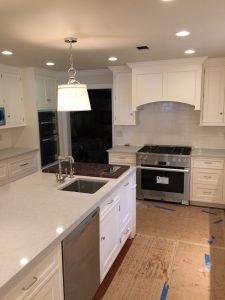 kitchen painting - lower gwynedd