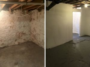 Wyncote Basement Restoration