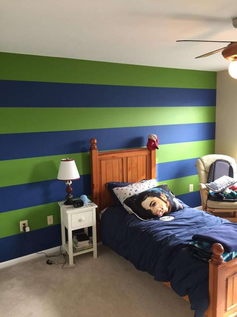 Spring City Interior Painting - bedroom