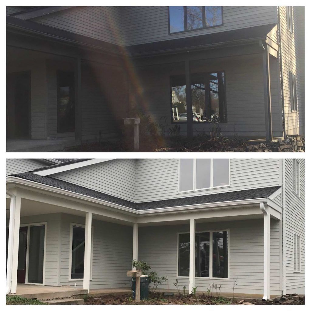 Spring House Commercial Exterior Painting