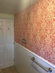 Plymouth Meeting wallpaper installation
