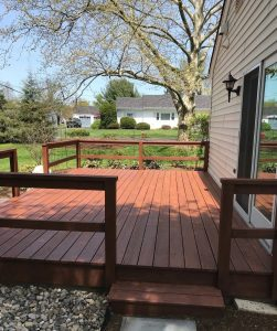 deck staining in collegeville